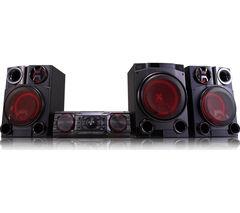 LG CM8460 Wireless Megasound Hi-Fi System - Black