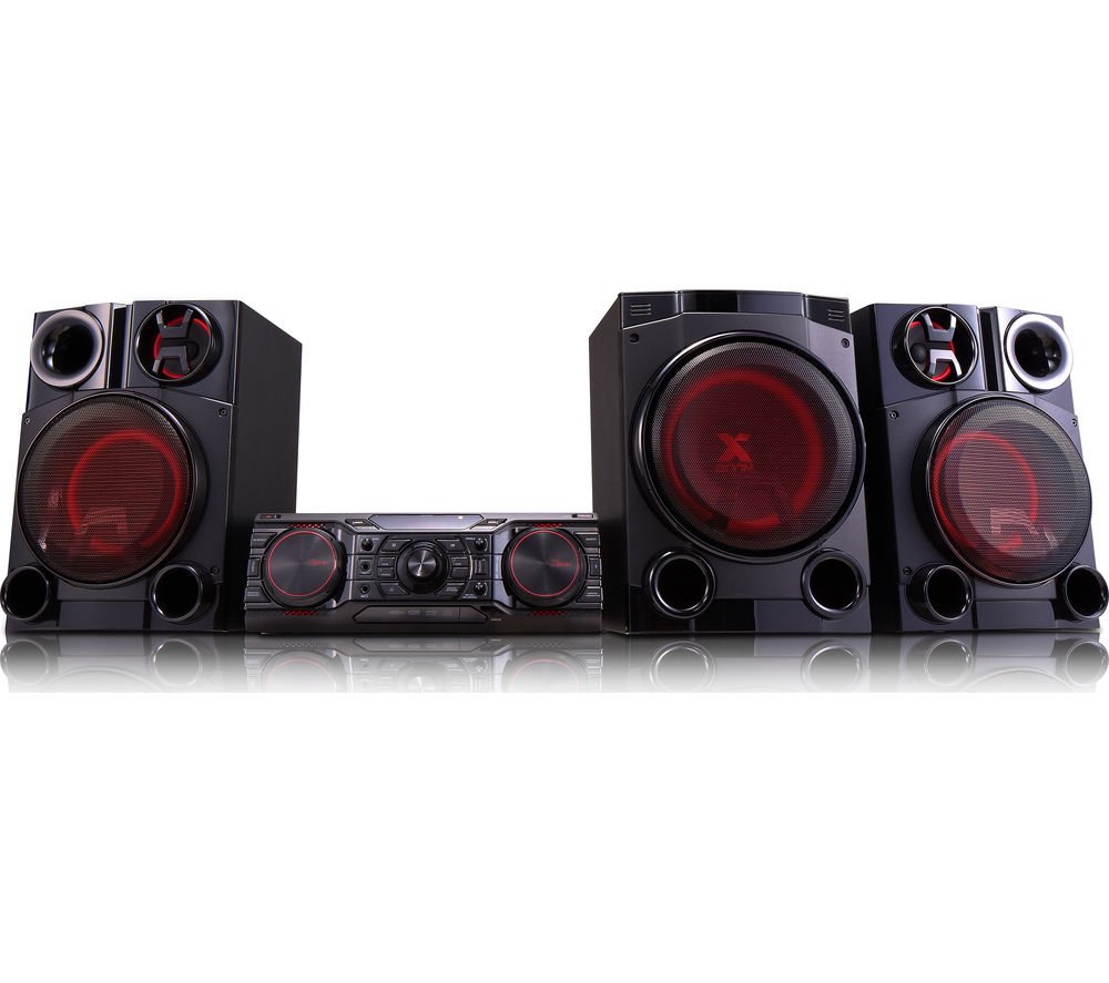 Click to view more of LG  CM8460 Wireless Megasound Hi-Fi System - Black, Black