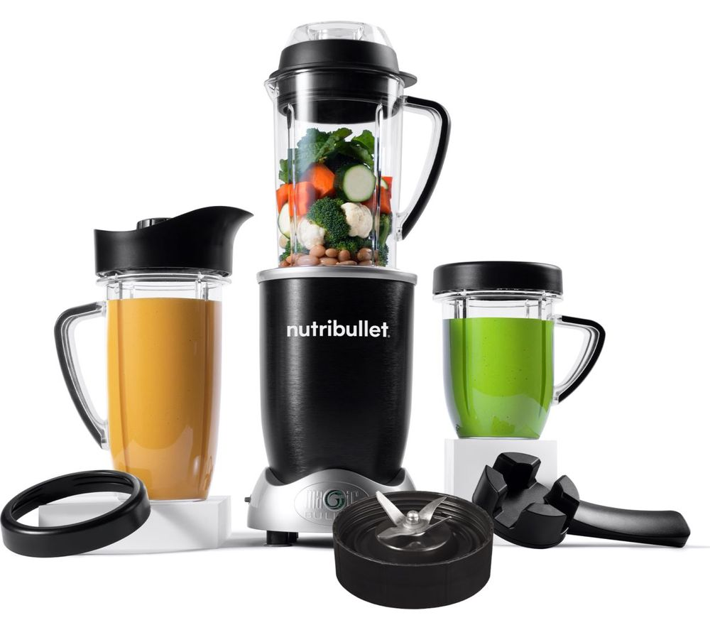 Currys Small Kitchen Appliances Buy Nutribullet Rx Nblrx Blender Black Free Delivery Currys