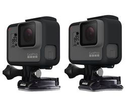 GOPRO AACFT-001 Curved & Flat Mounts - Black