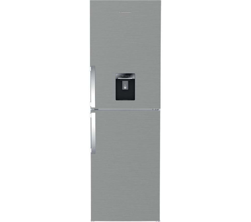 GRUNDIG GKF15810DN 5050 Fridge Freezer  Brushed Steel Brushed Steel