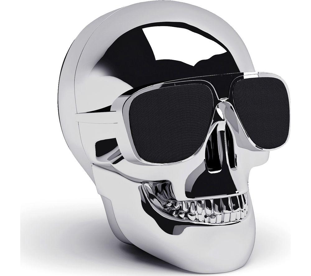 Click to view more of JARRE  Aero Skull Nano Wireless Portable Speaker - Silver, Silver