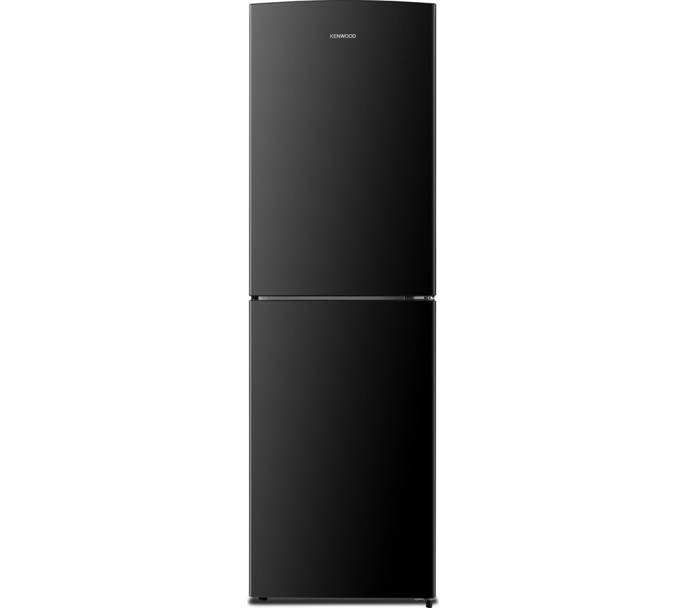 buy kenwood knf55b17 50 50 fridge freezer black free. Black Bedroom Furniture Sets. Home Design Ideas