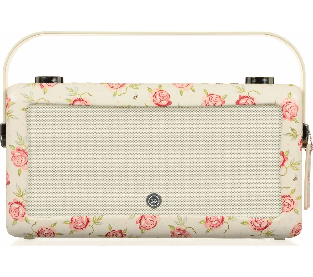EMMA BRIDGEWATE  by EMMA BRIDGEWATEr VQ Hepburn Mk II Portable DABﱓ Bluetooth Clock Radio.