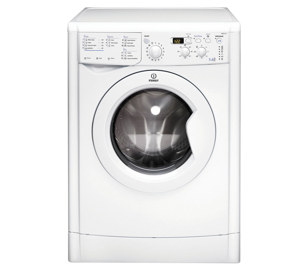 INDESIT  IWDD7123 Washer Dryer  White White