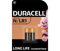 DURACELL MN9100/LR1/KN N Alkaline Batteries