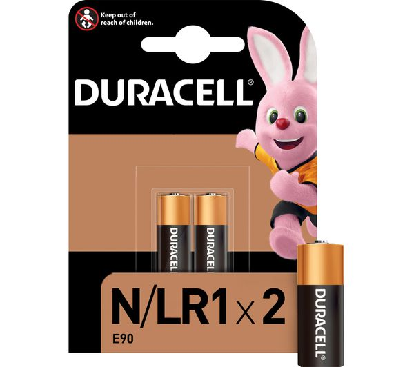 buy duracell mn9100 lr1 kn n alkaline batteries free. Black Bedroom Furniture Sets. Home Design Ideas