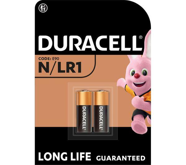buy duracell mn9100 lr1 kn n alkaline batteries free delivery currys. Black Bedroom Furniture Sets. Home Design Ideas