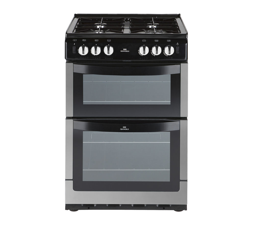 NEW WORLD 551GTC Gas Cooker - Stainless Steel