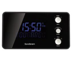 SANDSTROM SDABXCR13 DAB Clock Radio - Black