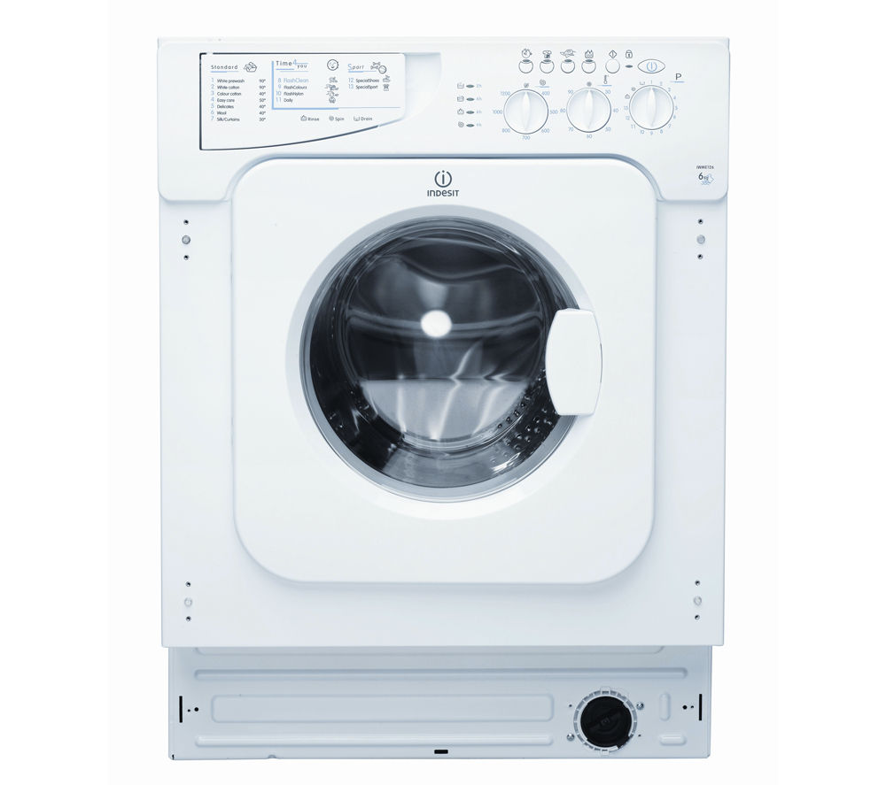 INDESIT IWME146 Integrated Washing Machine