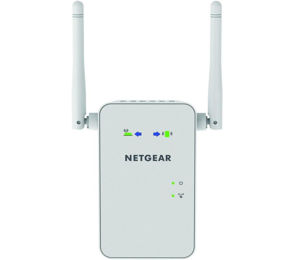 NETGEAR EX6100-100UKS WiFi Range Extender – AC 750, Dual Band