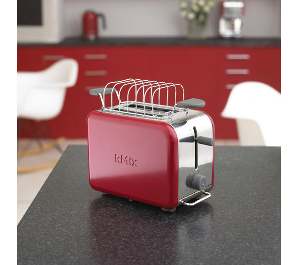 buy kenwood kmix ttm021a 2 slice toaster raspberry red. Black Bedroom Furniture Sets. Home Design Ideas