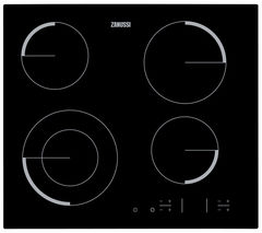 ZANUSSI ZEV6341FBA Electric Ceramic Hob - Black
