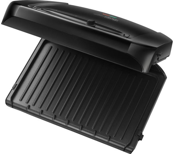 Buy george foreman 20850 entertaining grill black free - George foreman replacement grill plates ...