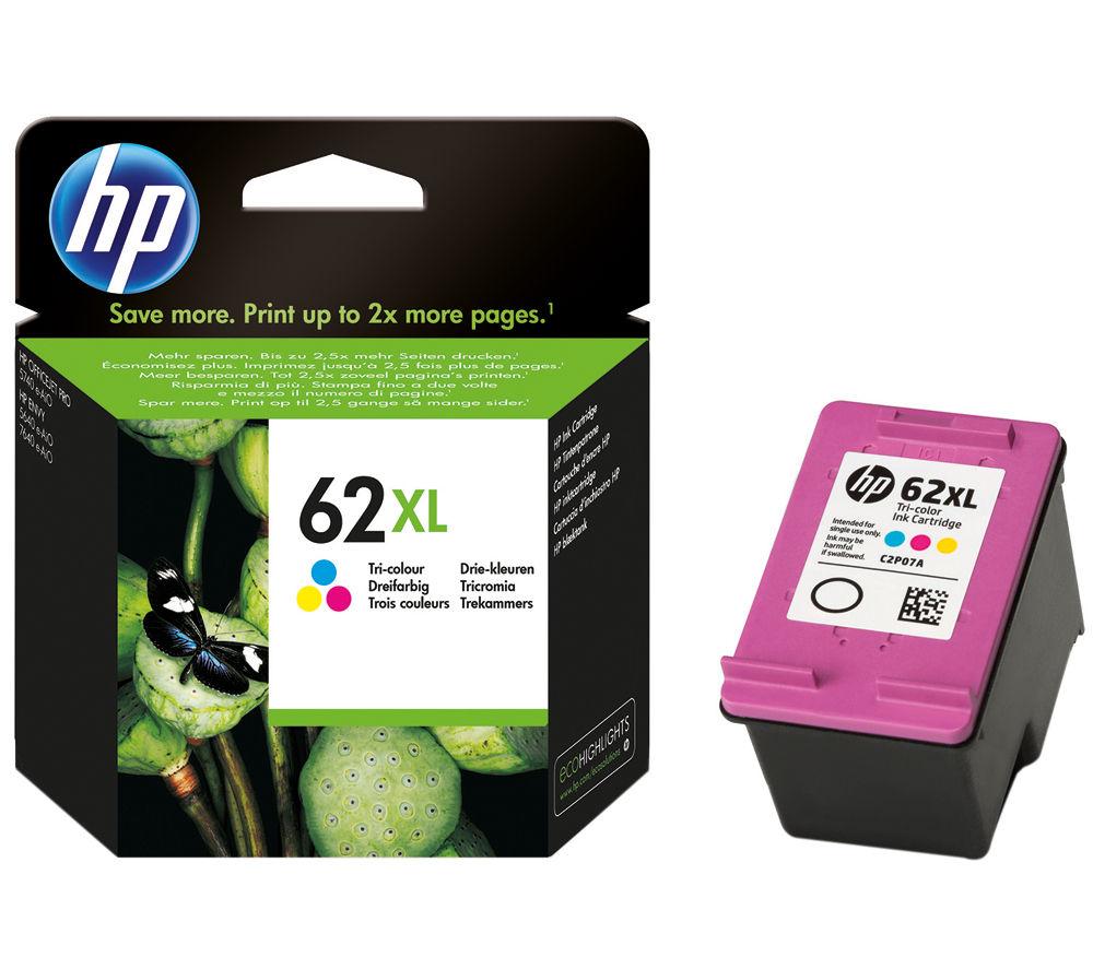 HP 62XL Tri-colour Ink Cartridge
