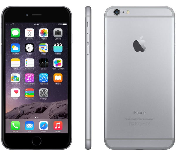 buy apple iphone 6 plus 64 gb space grey free delivery currys. Black Bedroom Furniture Sets. Home Design Ideas