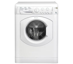 HOTPOINT HE8L493P Washing Machine - White