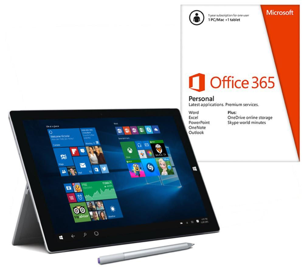 "Image of Microsoft Surface Pro 3 12"" Tablet - 256 GB with Office 365 Personal"