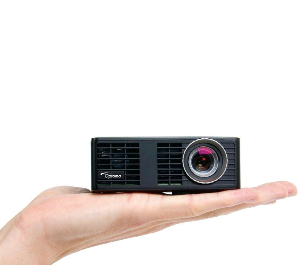 Optoma ml750e short throw portable projector deals pc world for Portable projector for laptop