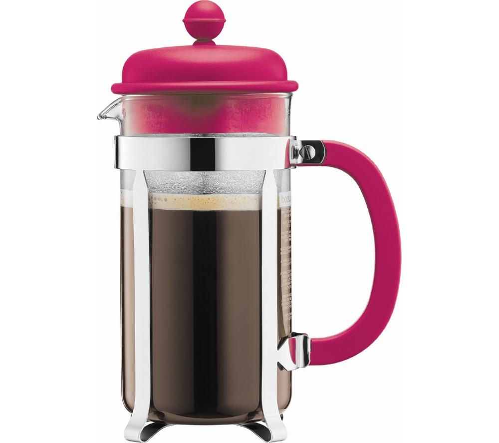 Uncategorized Currys Small Kitchen Appliances buy bodum caffettiera 1918 634 coffee maker pink free delivery pink
