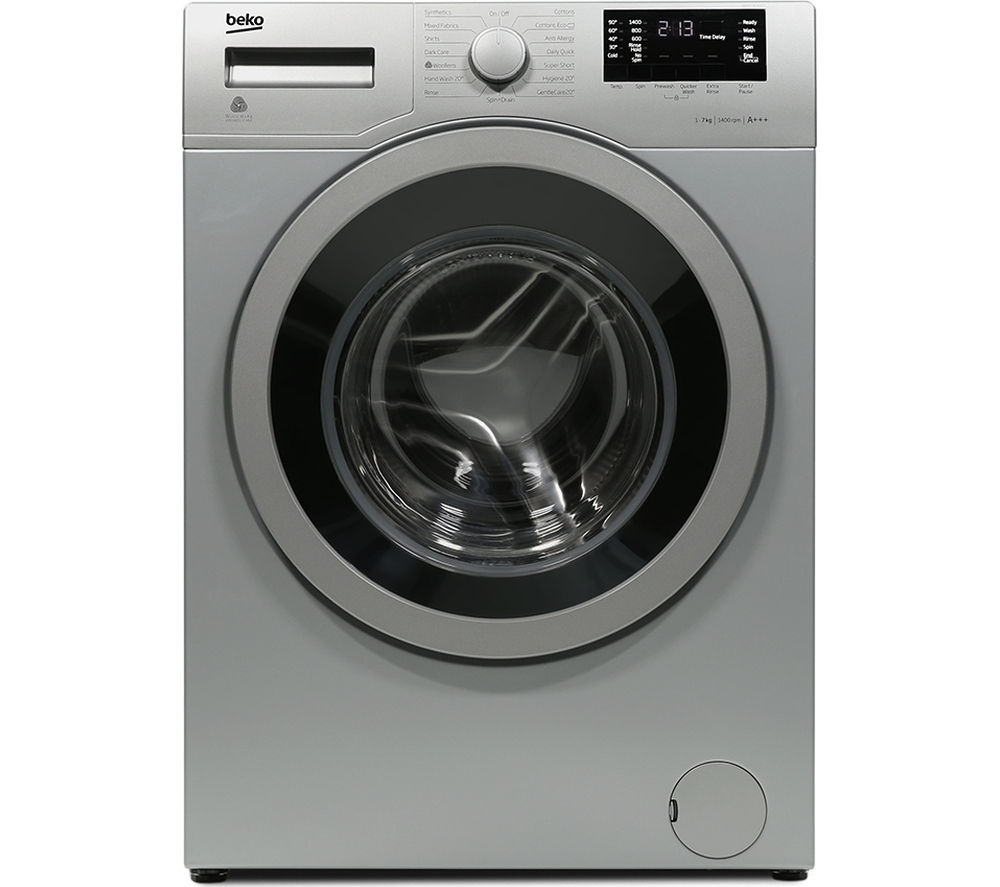 BEKO WX742430S Washing Machine - Silver