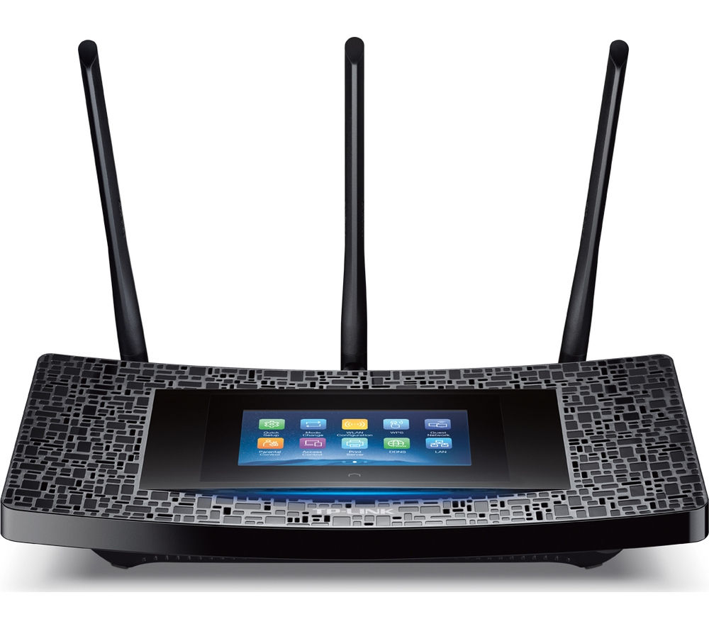 TP-LINK Touch P5 Wireless Cable & Fibre Router - AC1900, Dual Band