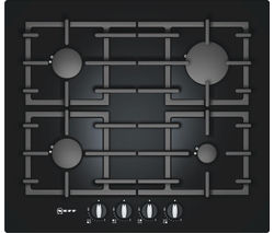 NEFF T62S26S1 Gas Hob - Black