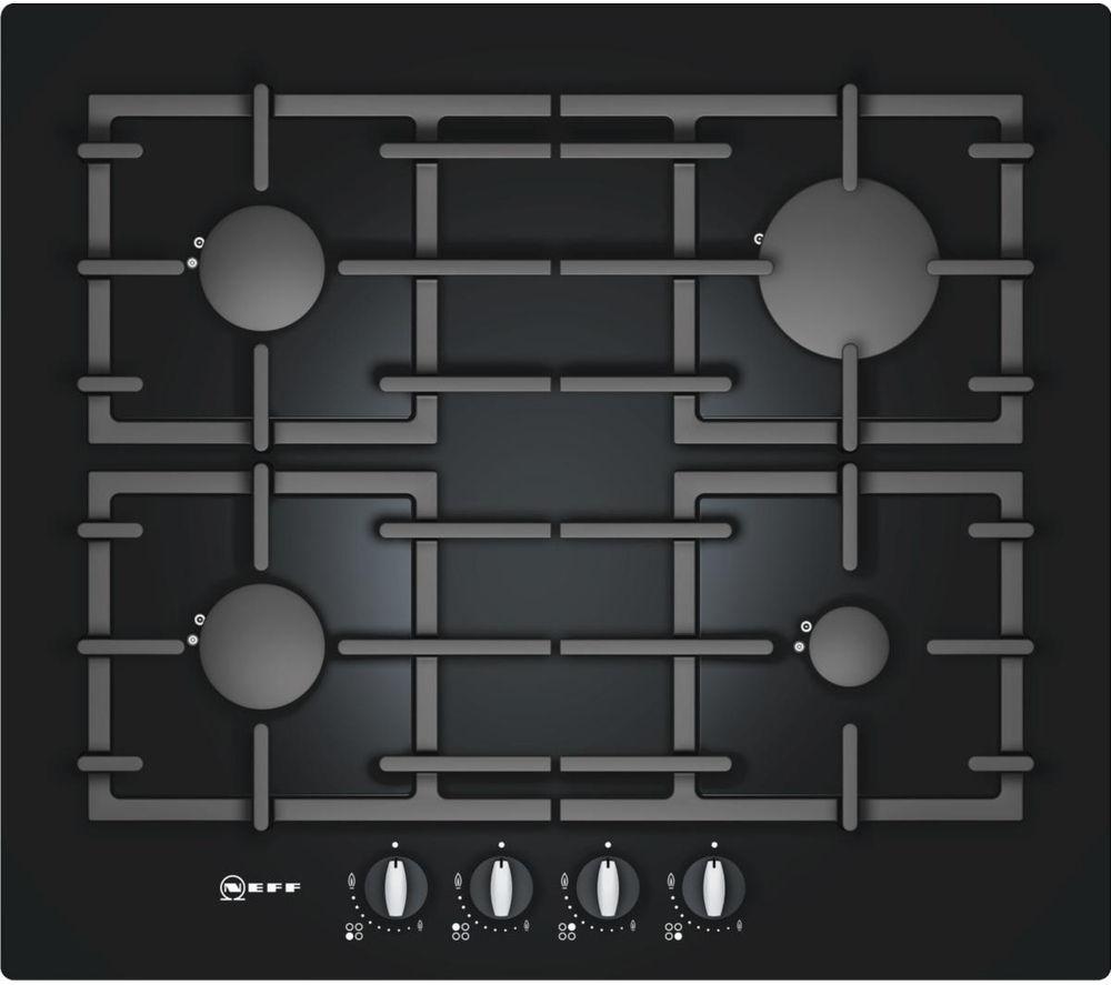 NEFF T62S26S1 Gas Hob - Black