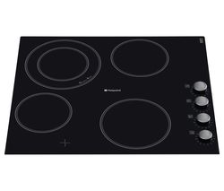 HOTPOINT CRM641DC Electric Ceramic Hob - Black