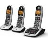 BT 4600 Cordless Phone with Answering Machine - Triple Handsets