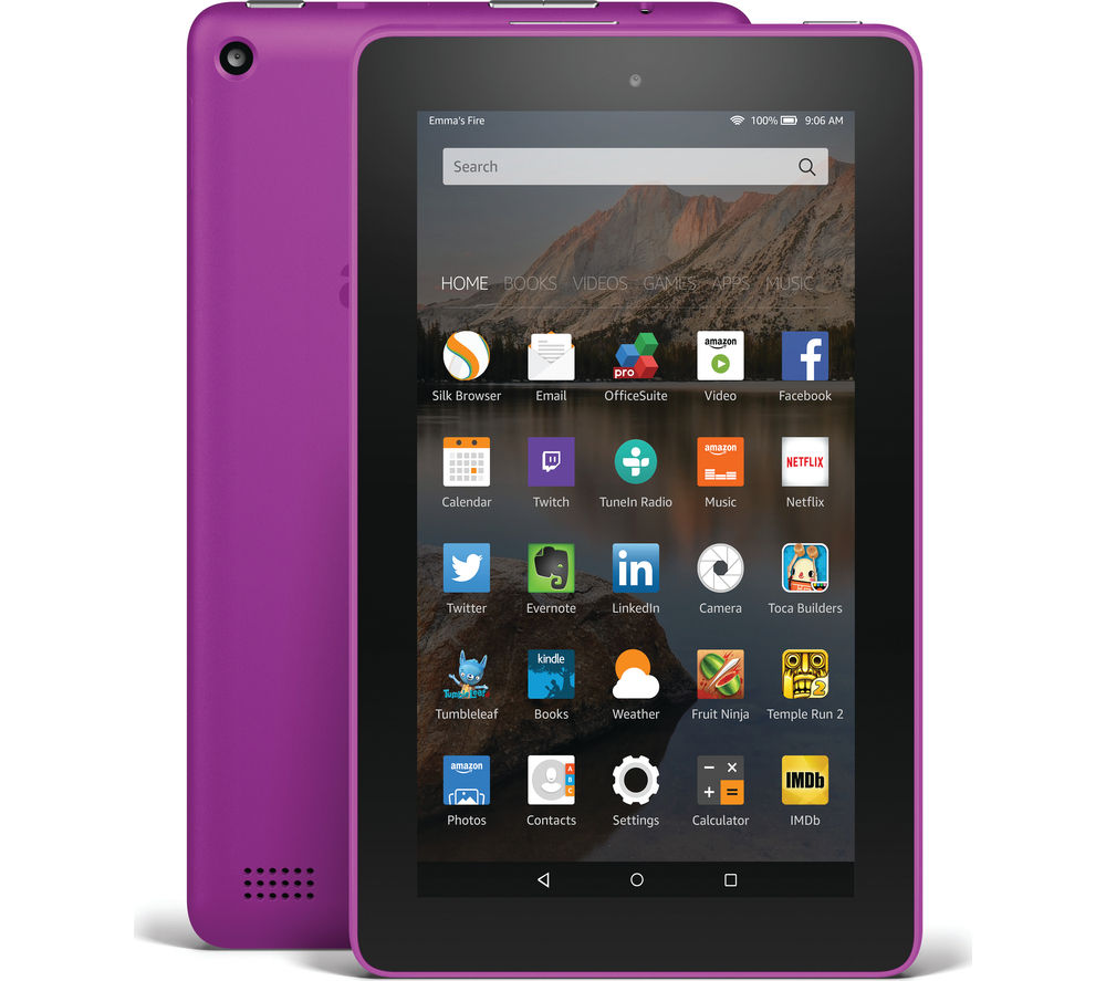 AMAZON Fire 7 Tablet - 8 GB, Magenta