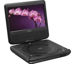 LOGIK L7SPDVD16 Portable DVD Player - Black