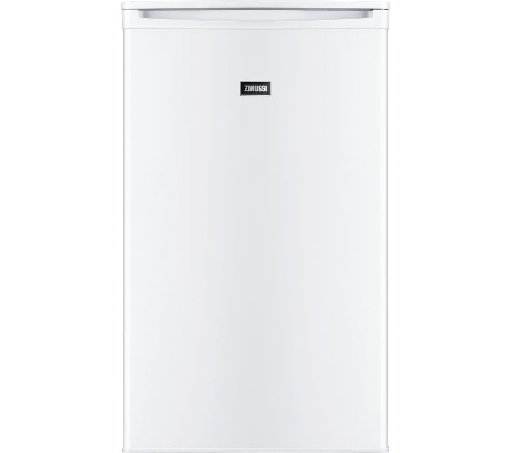 Buy Zanussi Zrg11600wa Undercounter Fridge White Free