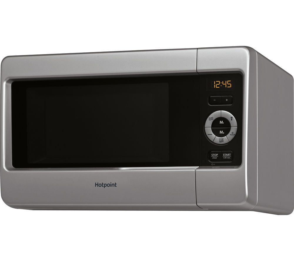 HOTPOINT HD Line MWH 2422 MS Microwave with Grill  Silver Silver