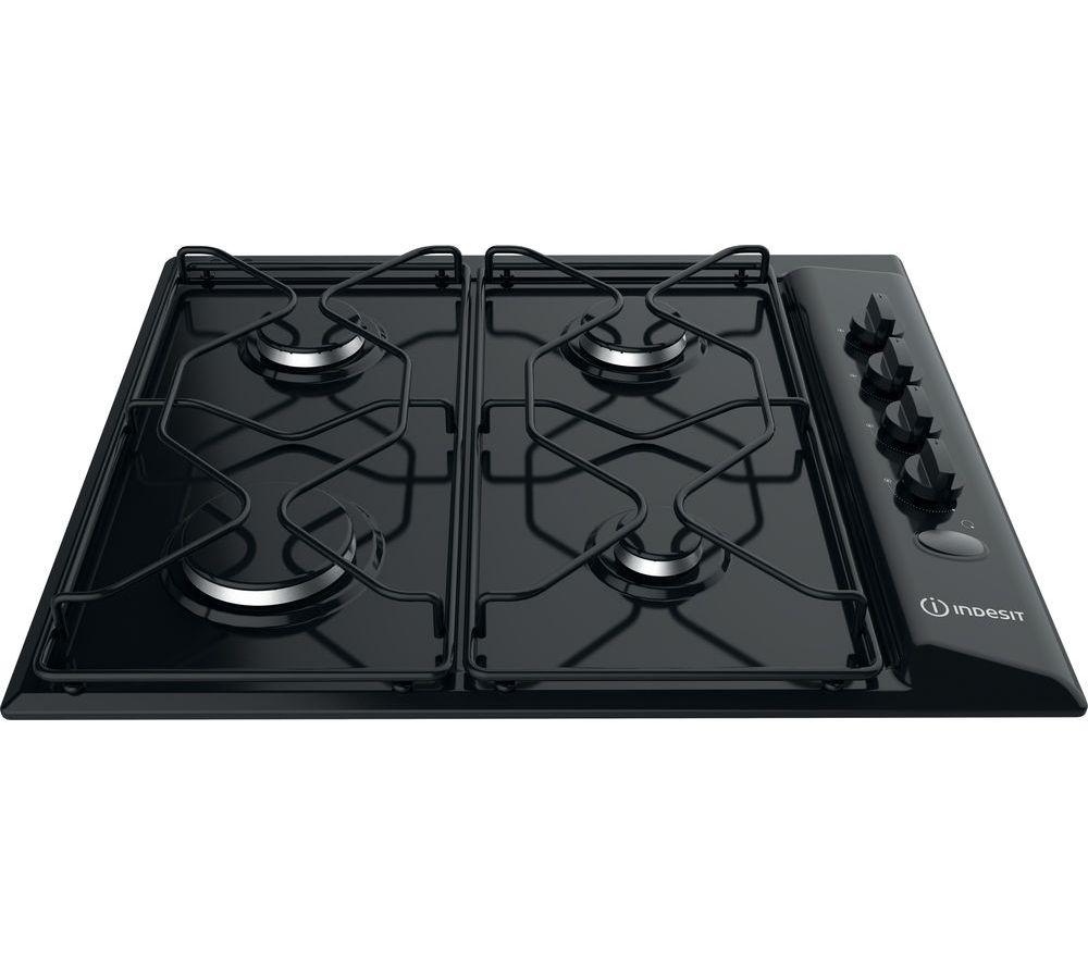 INDESIT  PAA 642 I Gas Hob  Black Black