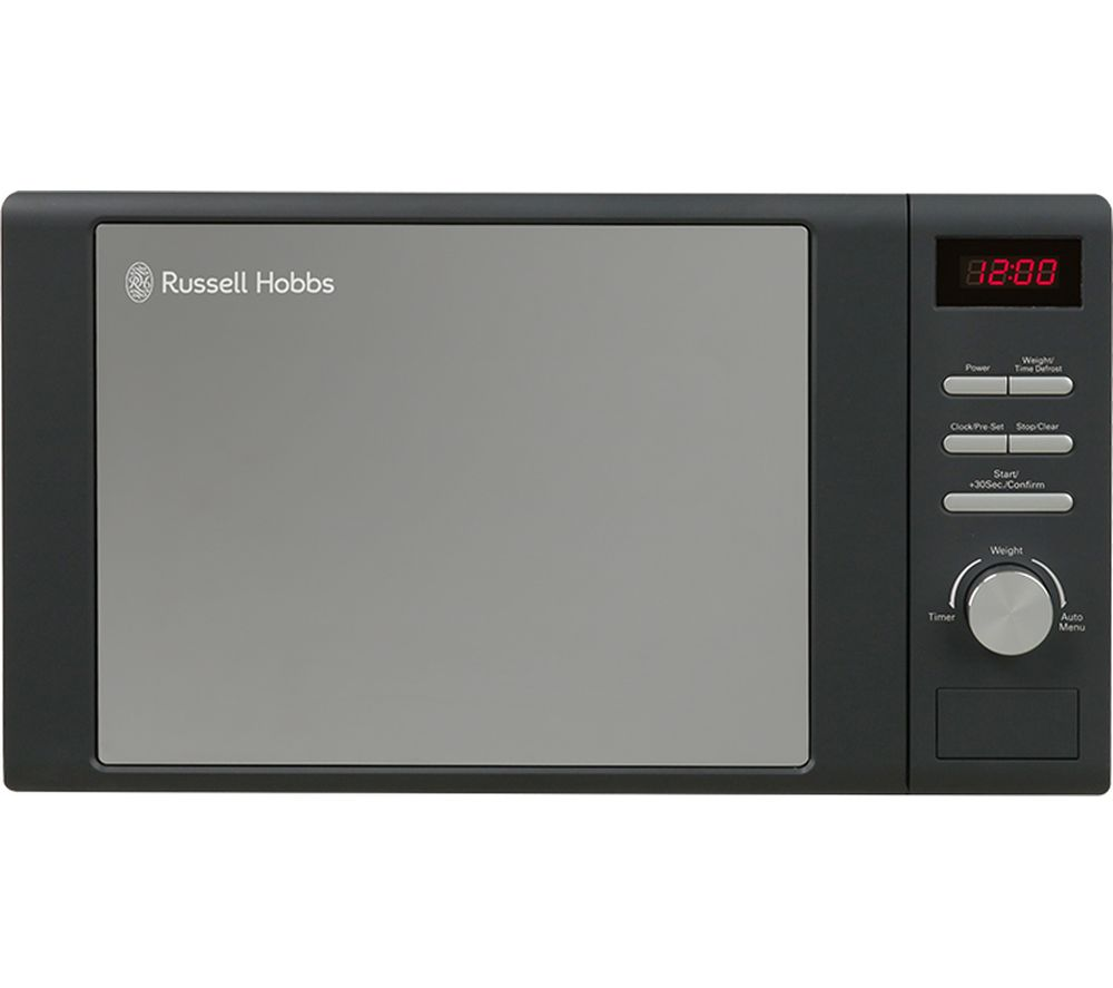RUSSELL HOBBS RHM2064G Compact Solo Microwave - Grey