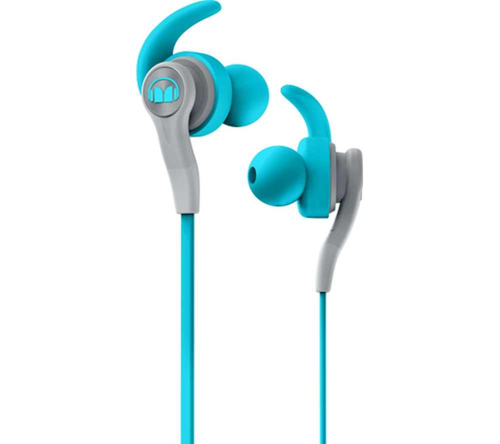 Click to view more of MONSTER  iSport Compete Headphones - Blue, Blue