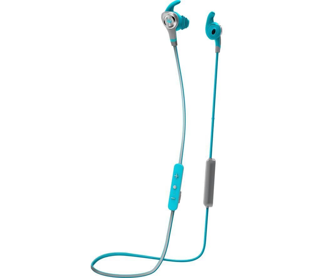 MONSTER iSport Intensity Wireless Bluetooth Headphones - Blue