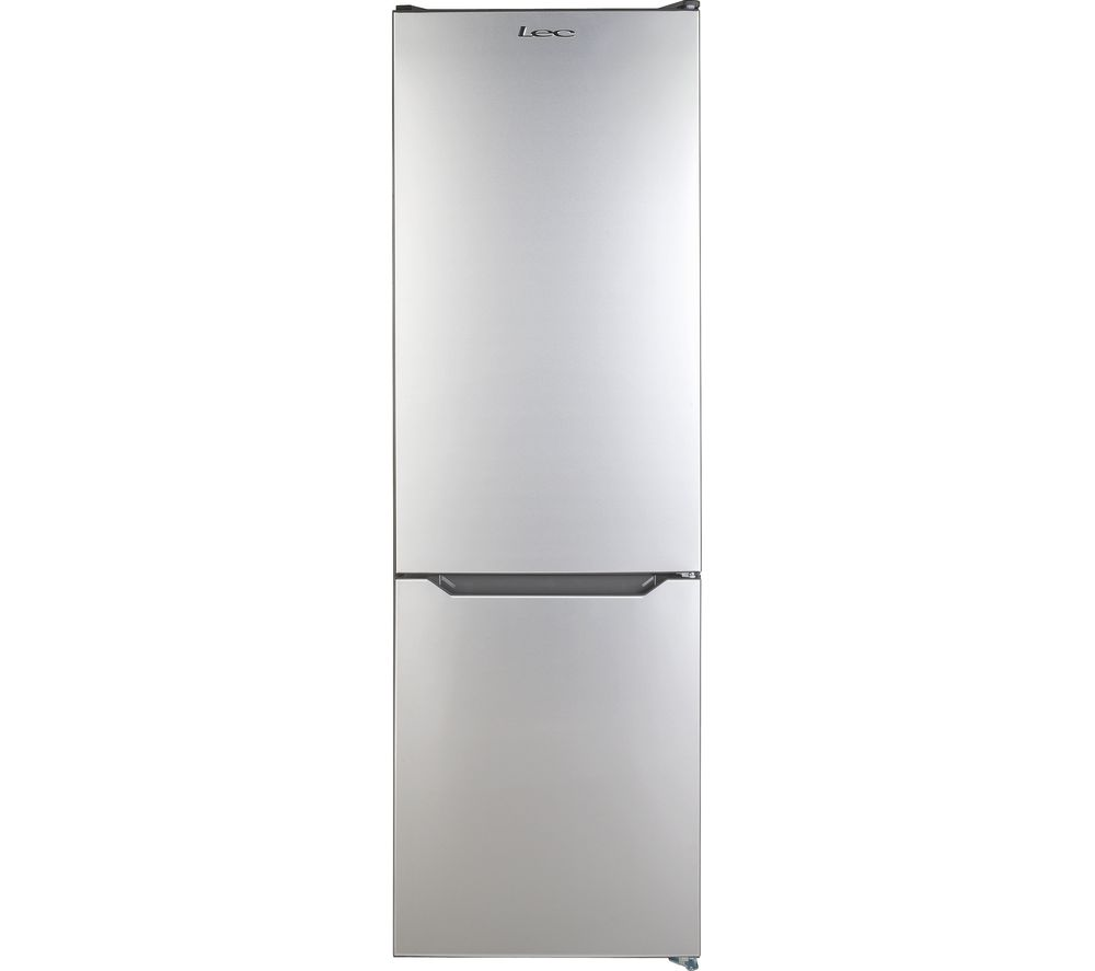 Image of LEC TNF60188S Fridge Freezer - Silver, Silver