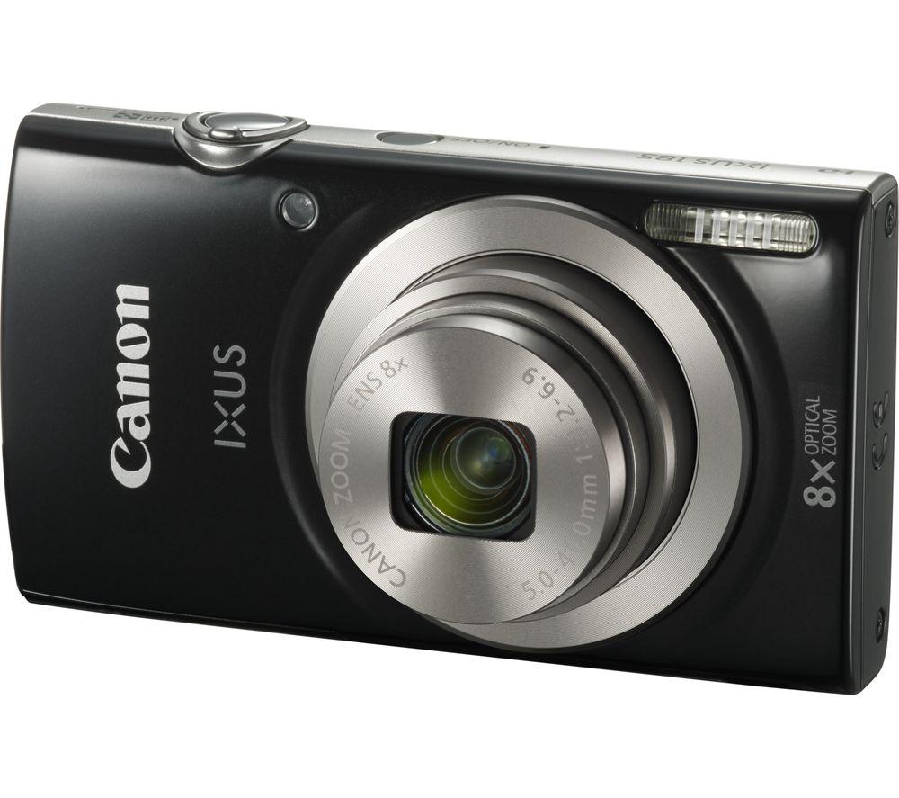 CANON IXUS 185 Compact Camera - Black