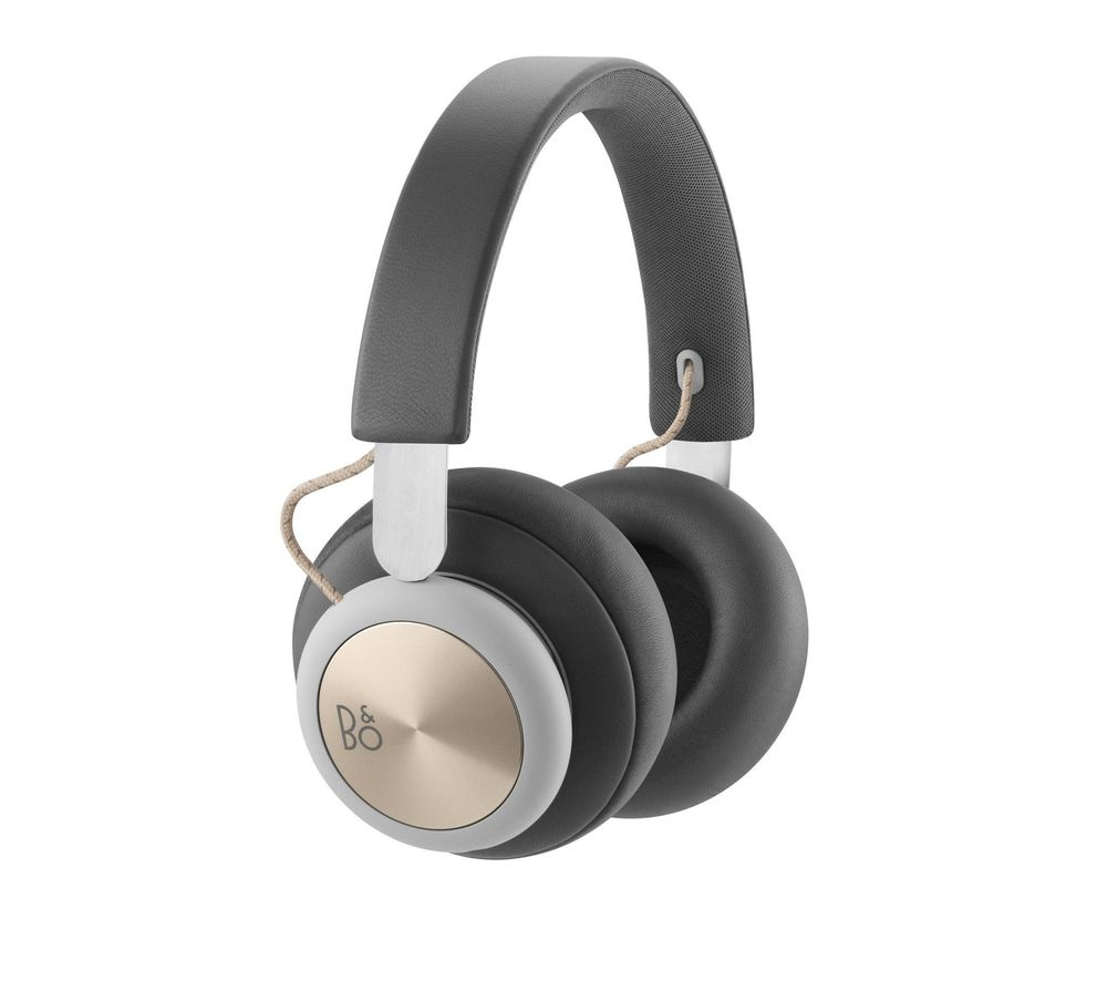 B&O H4 Wireless Bluetooth Headphones - Grey