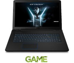 "MEDION Erazer P7647 17.3"" Gaming Laptop - Black"