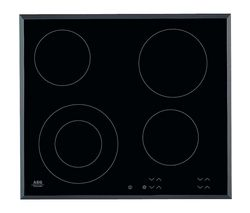AEG HK624010FB Ceramic Hob - Black