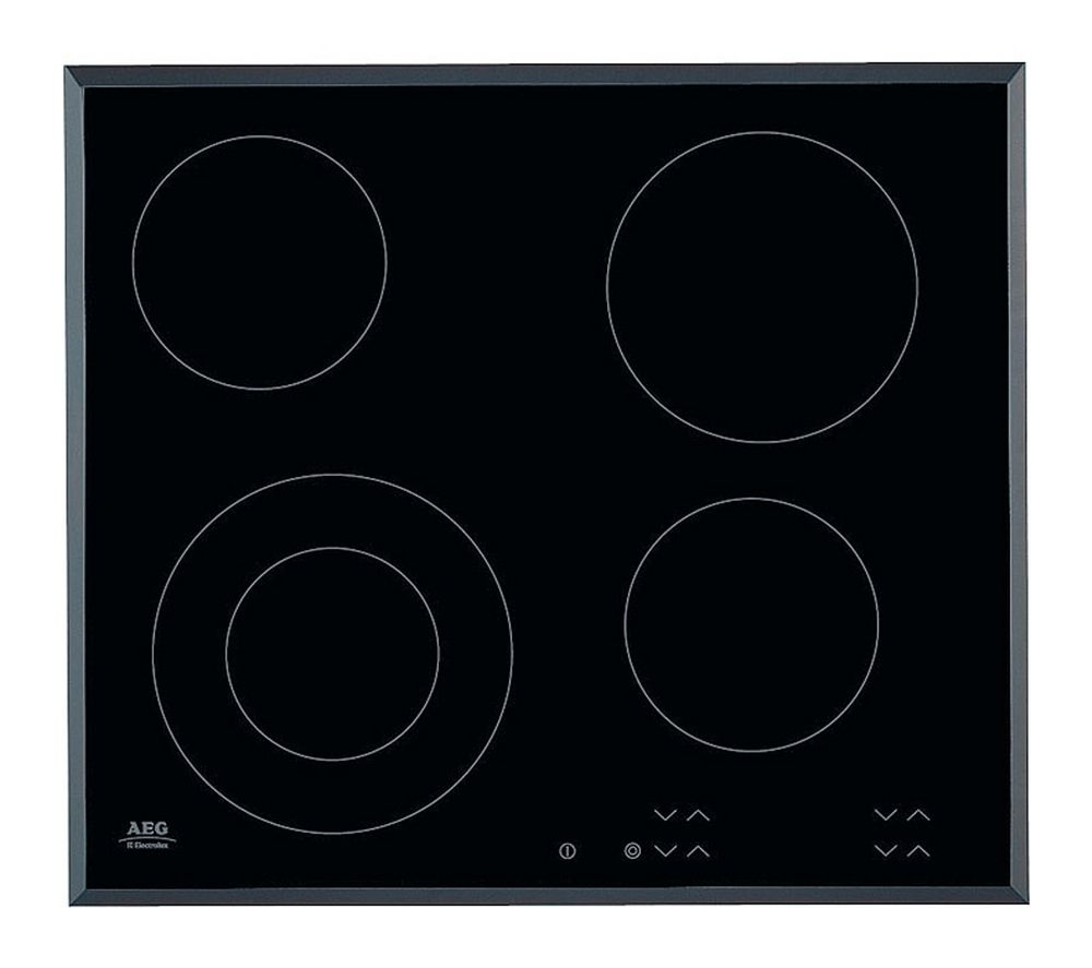 AEG  HK624010FB Ceramic Hob  Black Black