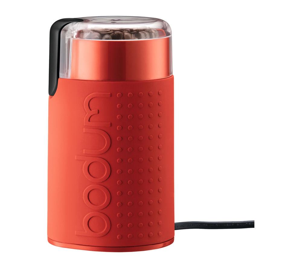 buy bodum bistro 11160 294uk electric coffee grinder red. Black Bedroom Furniture Sets. Home Design Ideas
