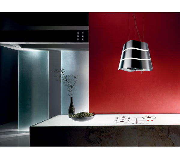 Buy Elica Flow Island Cooker Hood Stainless Steel Free