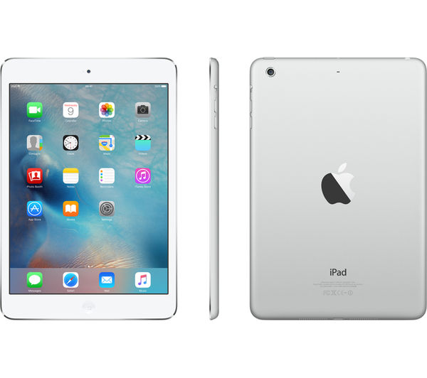 apple ipad mini 2 32 gb silver deals pc world. Black Bedroom Furniture Sets. Home Design Ideas