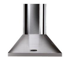 RANGEMASTER LEIHDC60SC Chimney Cooker Hood - Stainless Steel