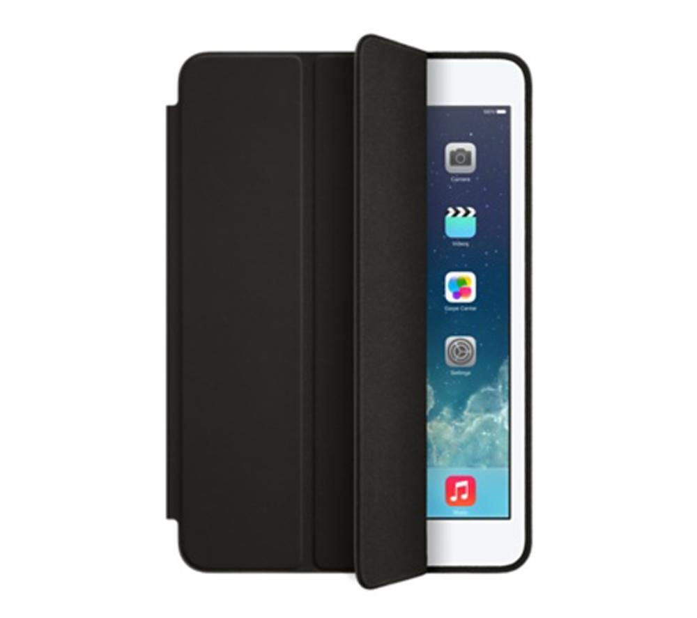 Image of Apple iPad mini Leather Case - Black, Black